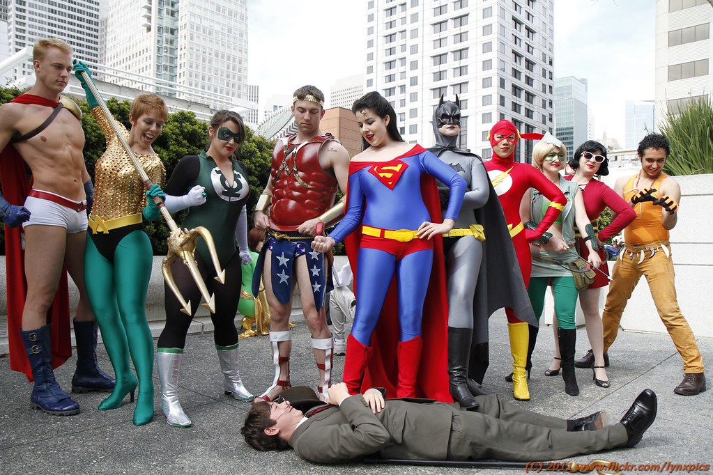 Genderbent Justice League Just Desserts Most Of The