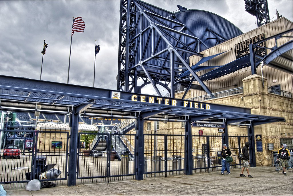 center field gate at pnc park copyright 169 dave dicello