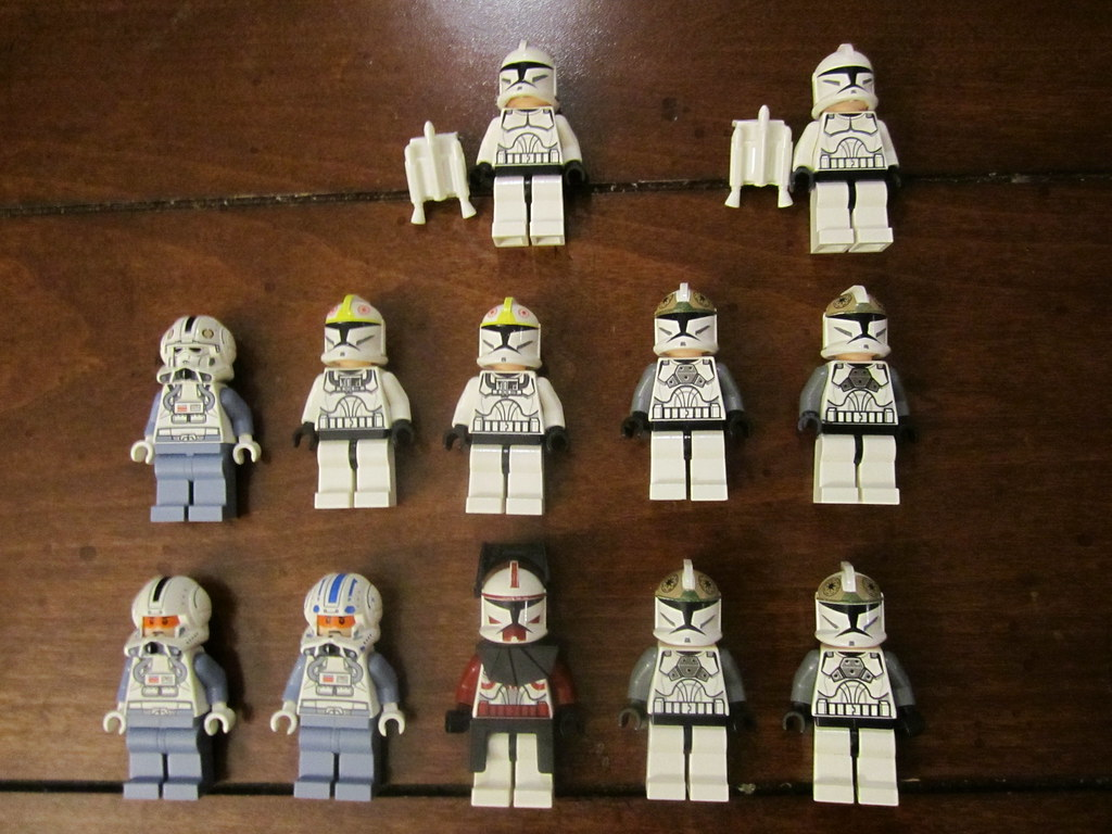 lego starwars clone for sale selling these guys for cash flickr. Black Bedroom Furniture Sets. Home Design Ideas