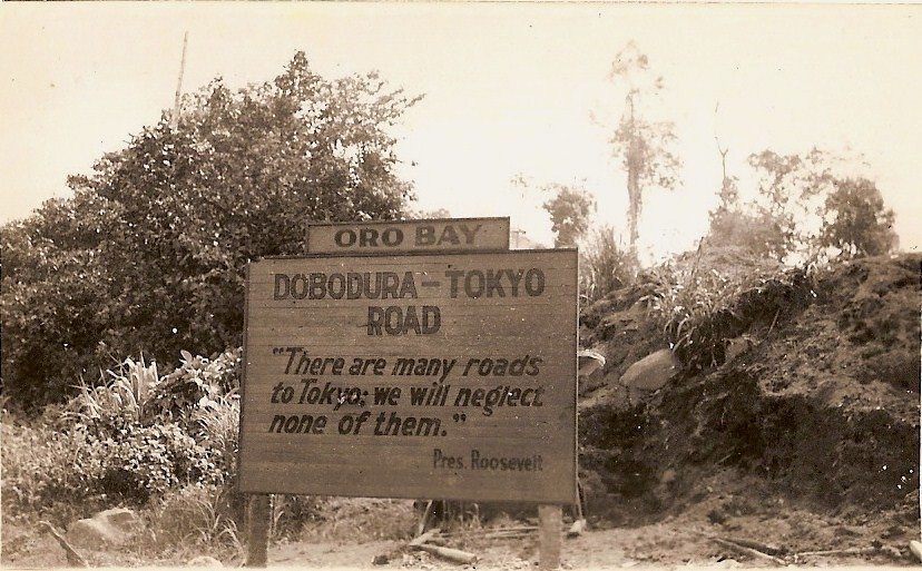 Dobodura To Tokyo Road Oro Bay New Guinea This Photo Was