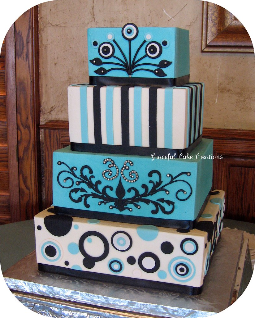 Black White Cakes Pictures