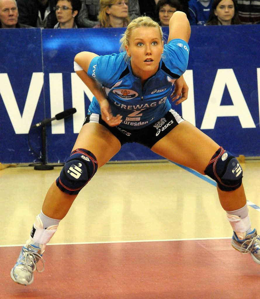 Mareen Apitz  German Volleyball Player  Aliam1  Flickr-5140