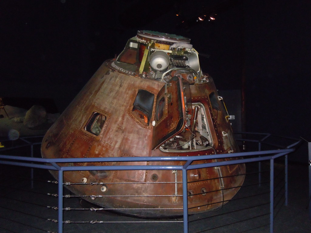 Apollo 17 CM | A view of the Apollo 17 Command Module ...