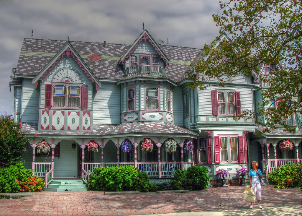 Victorian house in cape may nj thomas grim flickr for New victorian homes