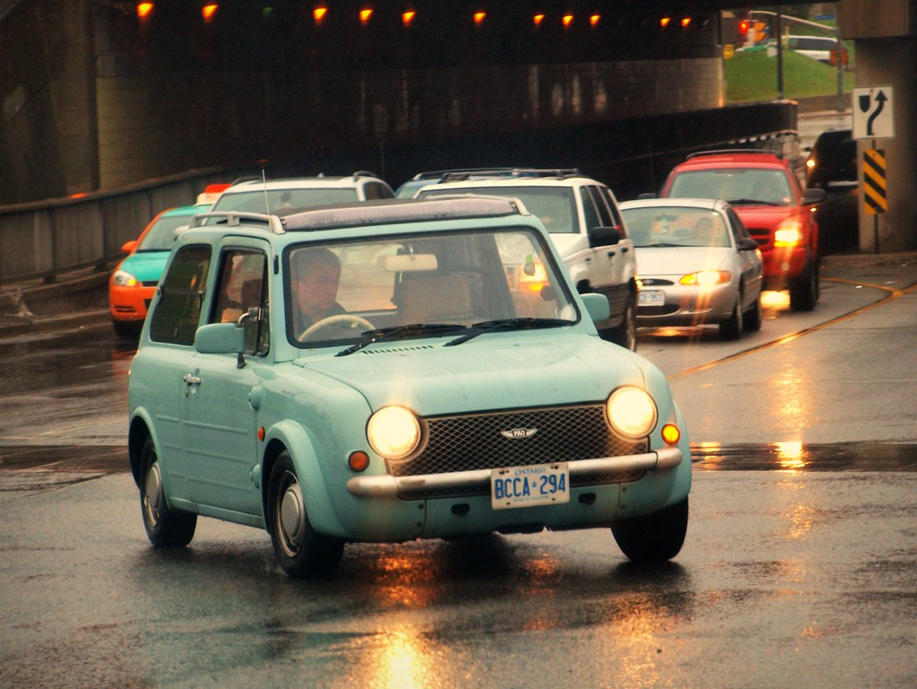 Nissan Pao | Now this is a really rare and collectable ...