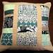 Umbrella Prints Trimmings comp - Pillow