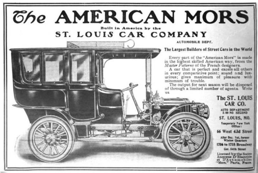 1906 The American Mors Automobile by the St. Louis Car Co.… | Flickr