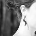 hyphae spiral earrings