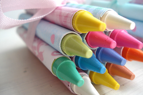 Crayon Favors | by such pretty things