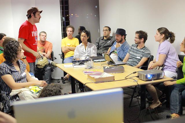 Proceso creativo, reunión de equipos. La creatividad no es la solución