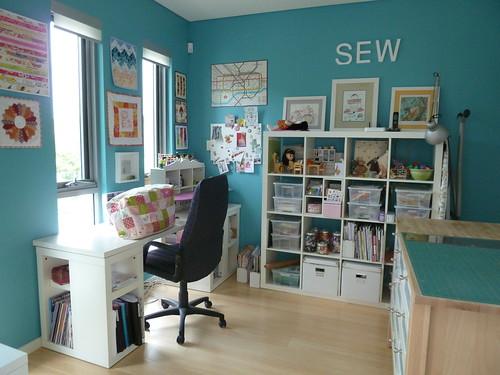 New Sewing Room Chaletgirl Wordpress Com 2011 04 02 The