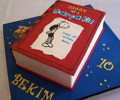 Diary Of A Wimpy Kid Cake Flickr Photo Sharing