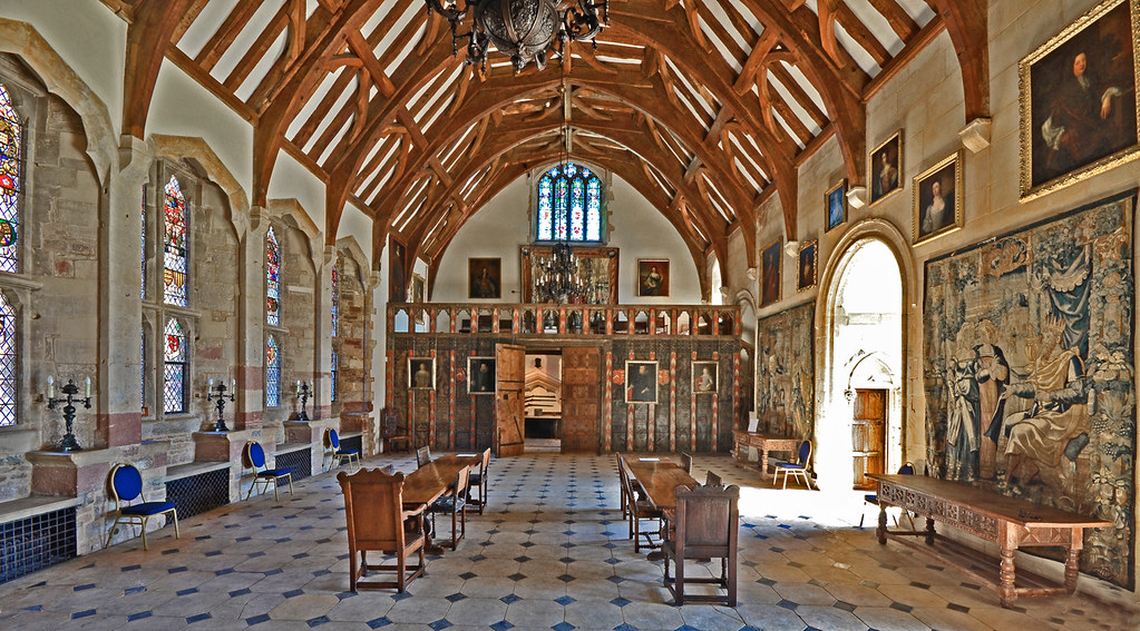 The Great Hall Berkeley Castle Gloucestershire The