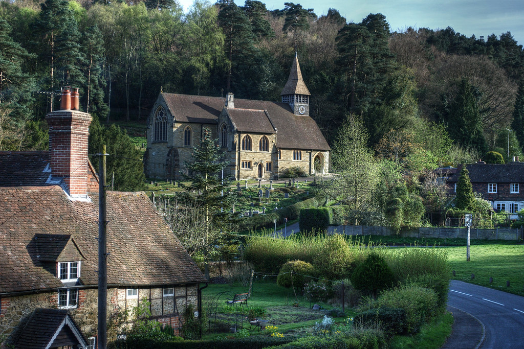 Holmbury St Mary One Of The Prettiest Villages In