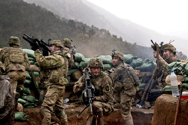 army troops in Afghanistan