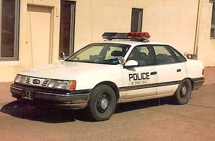 1990 Ford Taurus >> 1990 Ford Taurus Police Car | Gavinator2 | Flickr
