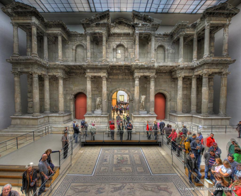 Market Gate of Miletus (Pergamon museum, Berlin)  Day 3 ...