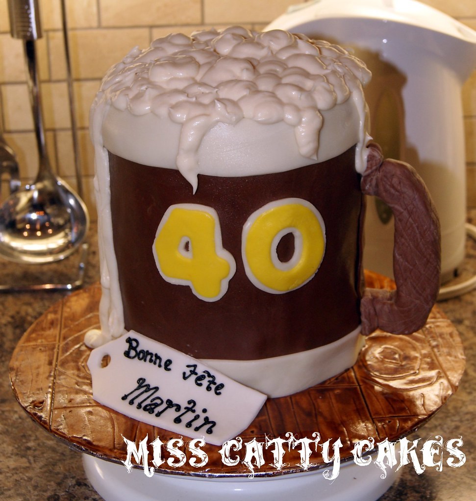 Beer Mug Cake Design : Beer Mug Cake Miss Catty Cakes Cake Design Flickr