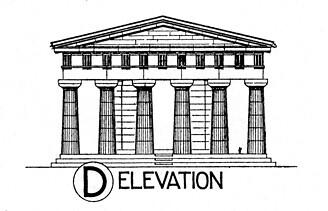 Paestum: Temple of Hera II: reconstruction elevation | Flickr