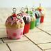 Miniature Food - Cupcake Jewelry :)