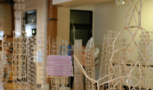 Popsicle Stick Architecture The Popsicle Stick Creations