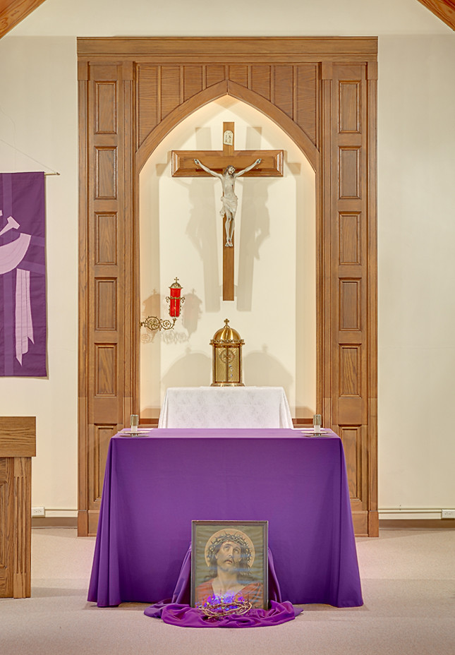 Saint nicholas roman catholic church in pocahontas illin flickr - Home altar designs ...