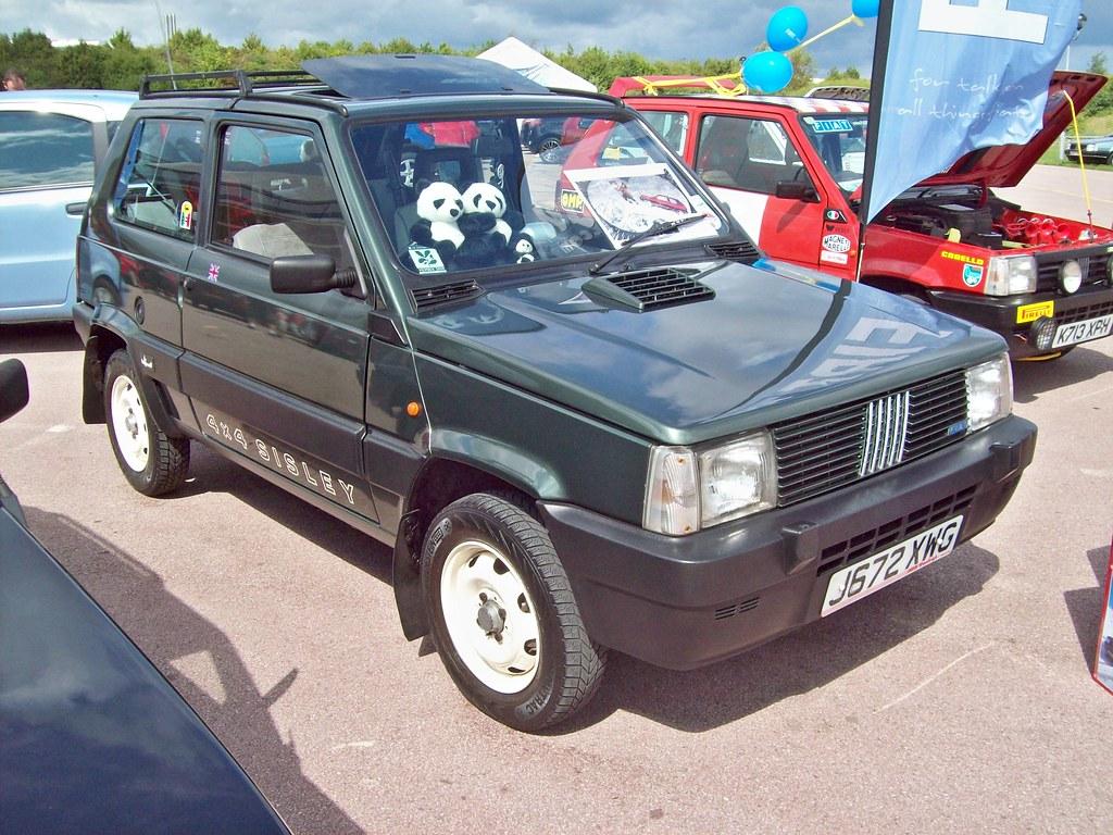 154 fiat panda sisley 4x4 1st facelift 1991 fiat panda for Fiat panda 4x4 sisley usata