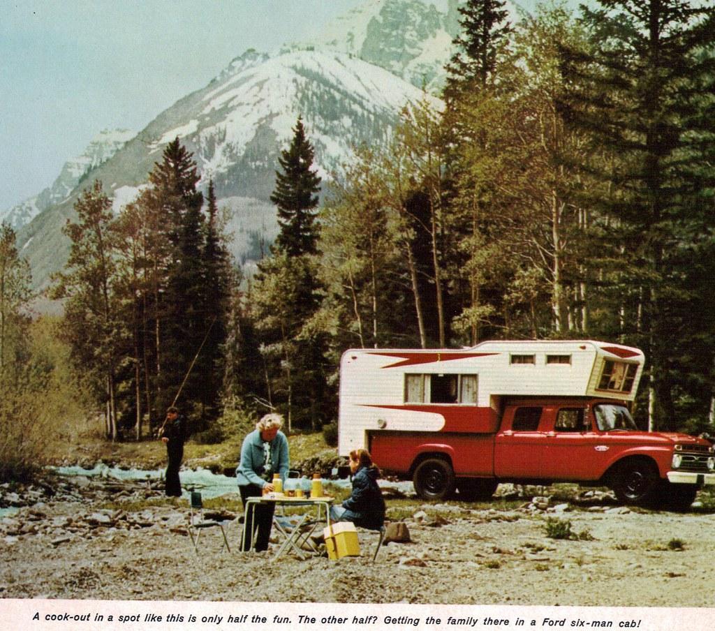 1966 Ford F-350 4 Door Six-Man Cab Pickup Truck