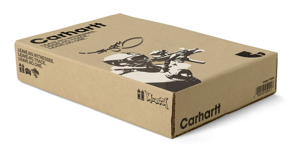 Carhartt t shirt packaging final major project for art for Bags for t shirt packaging