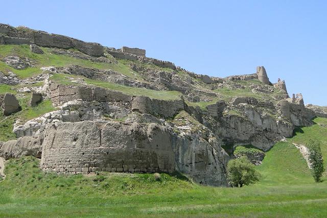 View of Van Castle (Van Kalesi) - Van - Turkey - 02 ...