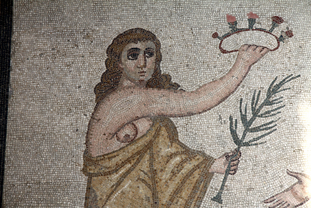 Mosaic Villa Romana Del Casale Piazza Armerina Sicily