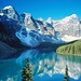 Valley of the Ten Peaks, Moraine Lake, Alberta, Canada - I do not own the right for this picture
