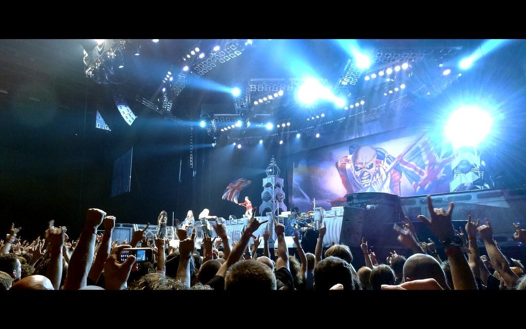 Gelredome Iron Maiden Iron Maiden Gelredome Arnhem