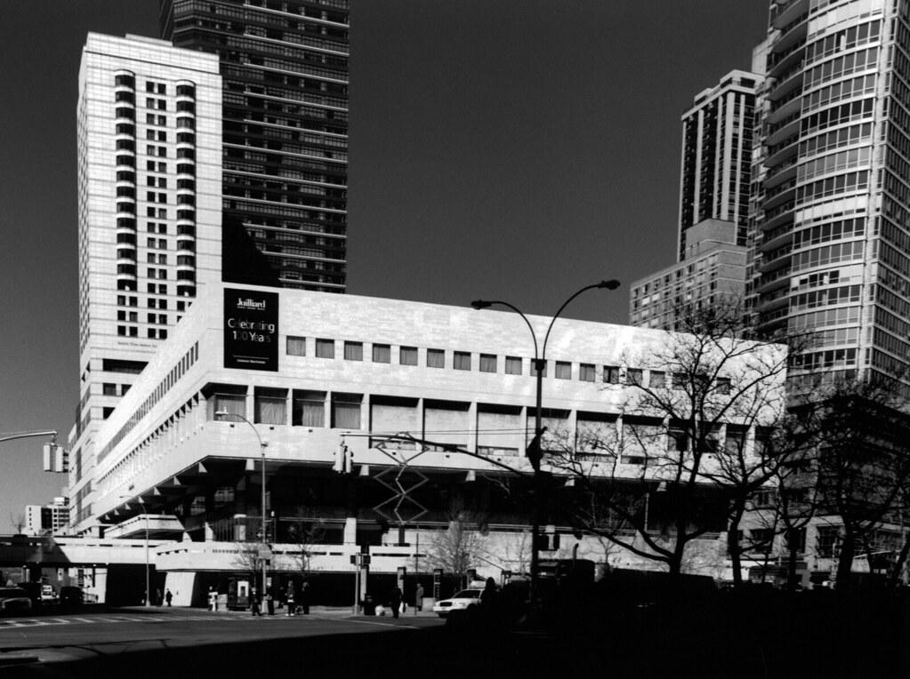 Juilliard School Of Music Exterior Title Juilliard