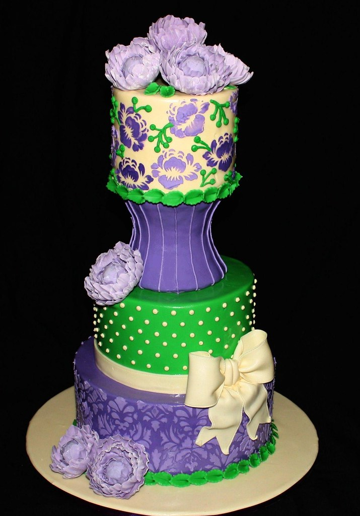Purple Th Birthday Cakes