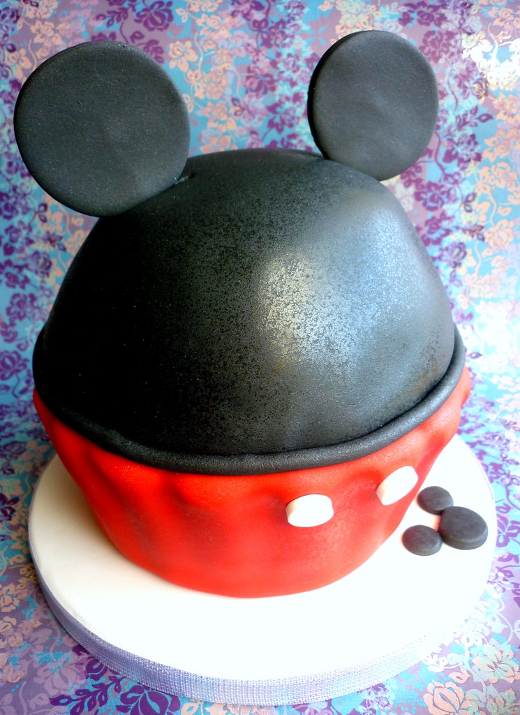 Mickey Mouse Themed Giant Cupcake This Design Was