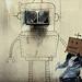 Banksy 'Boxhead'
