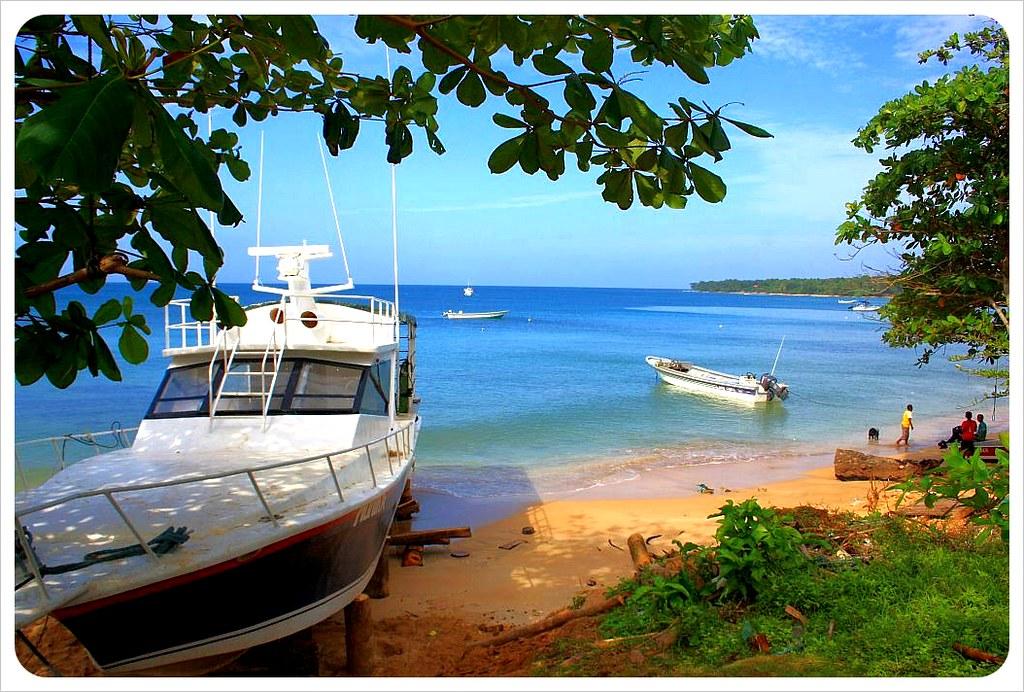 Little Corn Island yacht