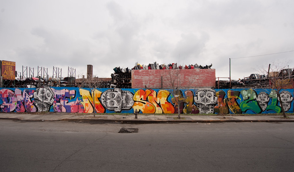 action used auto parts hunts point bronx the sky this day flickr. Black Bedroom Furniture Sets. Home Design Ideas