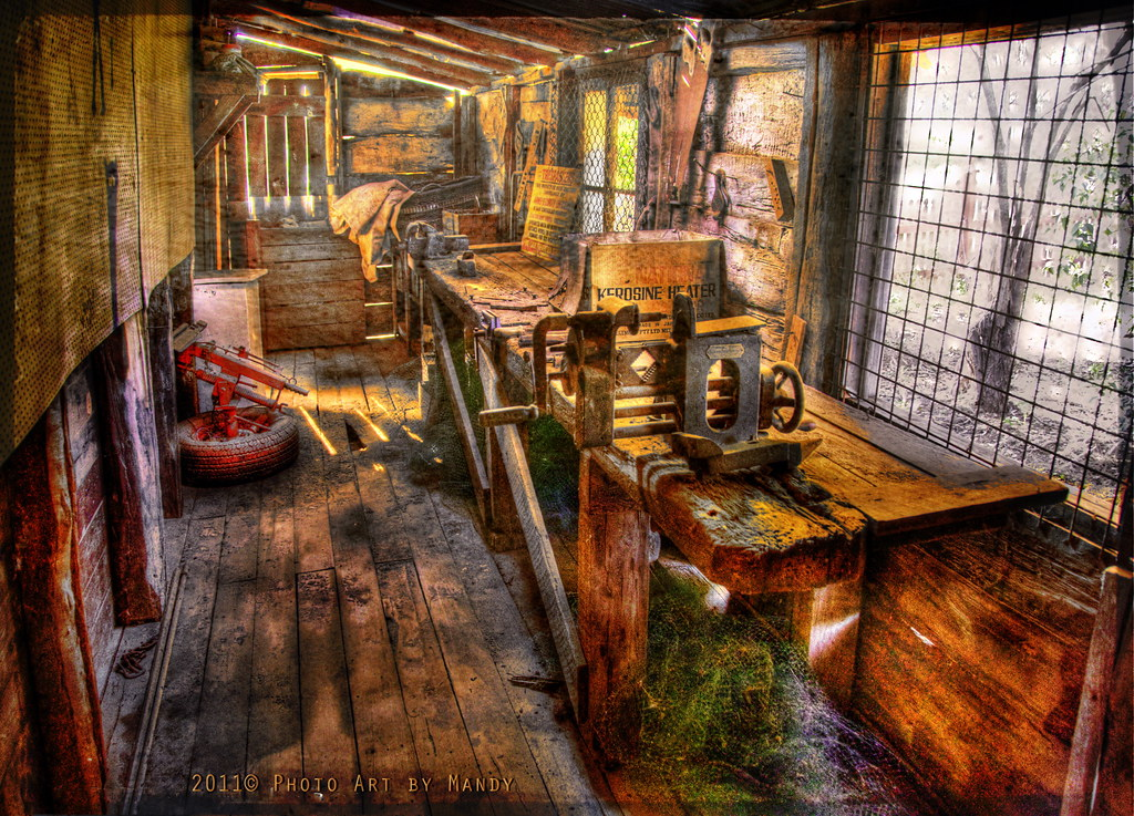 The Old Workshop Hh Hdr X 3 Exp Texture Paree Www