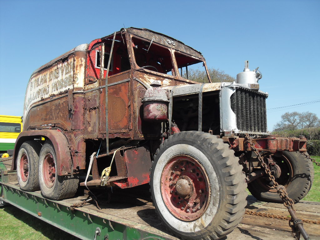 Scammell Pioneer Sir Hilary ex B.Coles   magspazur