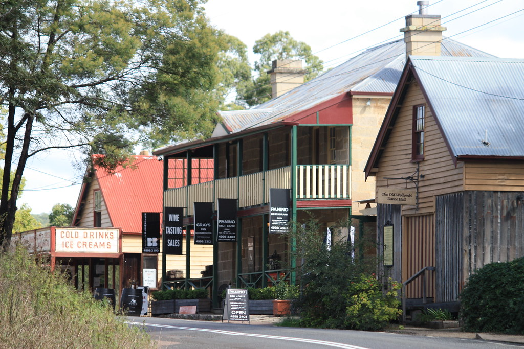Historical Village of Wollombi, NSW - April 2011 | A view ...