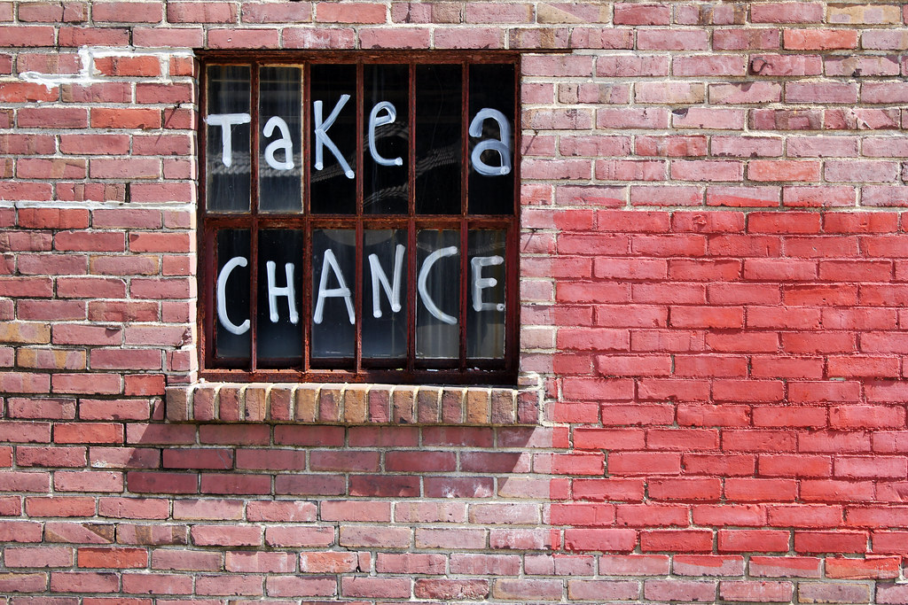 Image result for take a chance