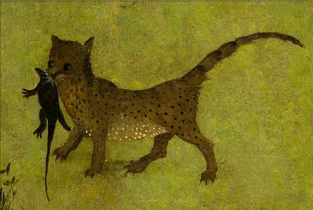 Chat d tail du jardin des d lices 1503 1504 for Bosch jardin des delices