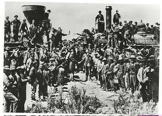 Photograph of Golden Spike Ceremony at Promontory, Utah, 05/10/1869 | by The U.S. National Archives