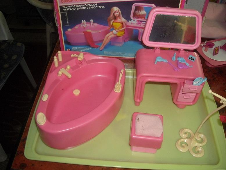 Vasca Da Bagno Barbie : Lavandino e gabinetto di barbie u apertura kit e commenti u barbie