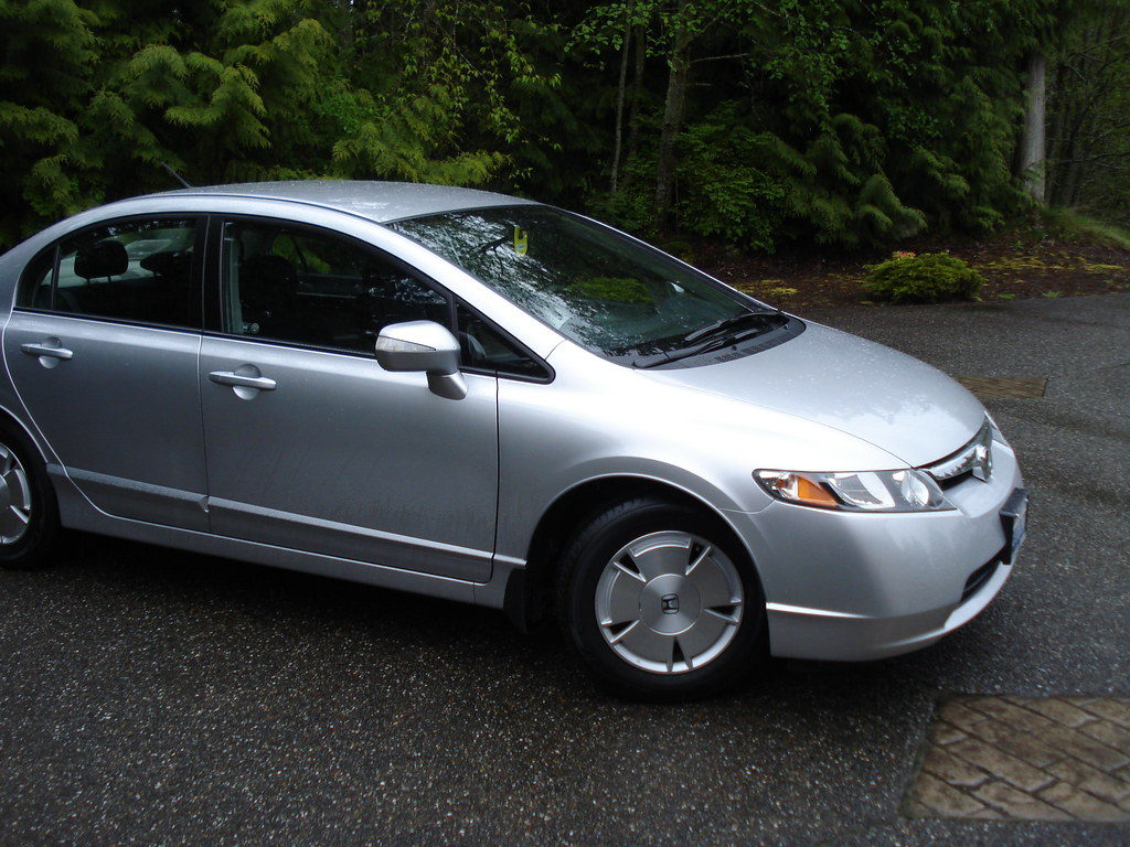 My New Car 2008 Honda Civic Hybrid My New Car 2008