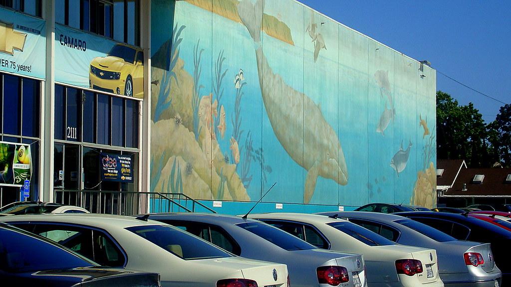 Wyland Whale Mural City Chevrolet San Diego Ca Wyland S Flickr
