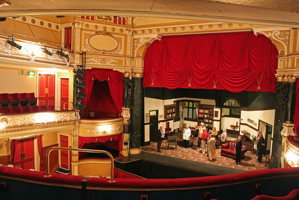 Devonshire Park Theatre Eastbourne A Beautiful View From T