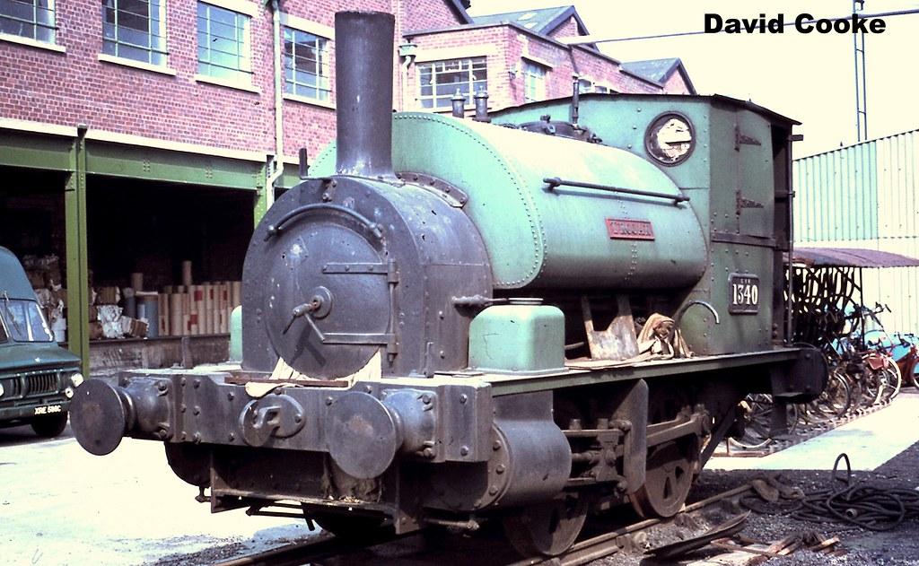 S2812 GWR 1340 (AE1386/1897) 0-4-0ST Trojan @ Alders Paper ...